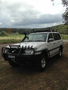 1998 Toyota LandCruiser Wagon 100/105 series Turbo Diesel Bateau Bay Wyong Area Preview