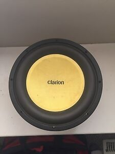 12 inch competition subwoofer