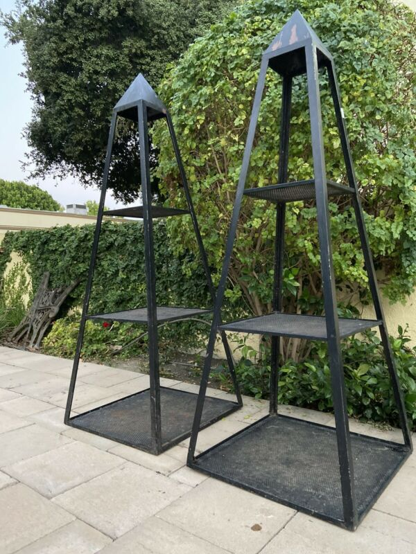 2 Matching OBELISK TOWER PLANT STAND
