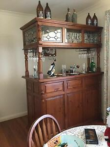Timber Bar with Matching Wine Cupboard Bairnsdale East Gippsland Preview