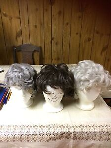 Vintage wigs and hats