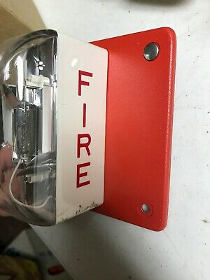 Wheelock Ls3-24 Fire Alarm 20-31vdc Preowned