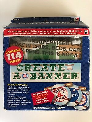 Create Birthday Banner (MLB Create a Banner Party sign Baseball Birthday T-Ball Team Party)
