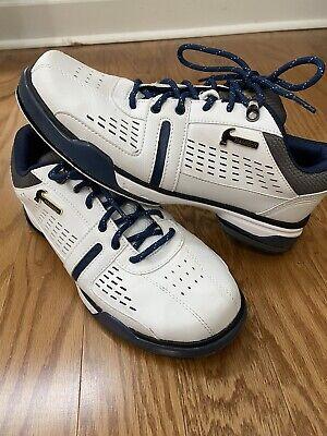 Men's Hammer BOSS White/Grey/Navy RH/LH Interchangeable Shoes Size 9M