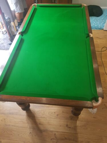 Solid Oak Snooker Dining Table