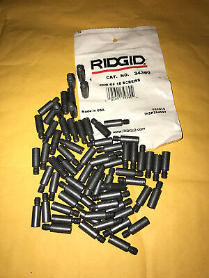 Ridgid 34360 Screw Pin For Pipe Cutters Lot Of 3 Pins