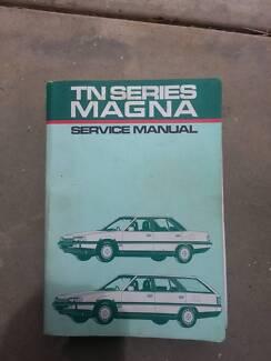 TN Mitsubishi Magna Genuine Workshop service Repair Manual Maiden Gully Bendigo City Preview