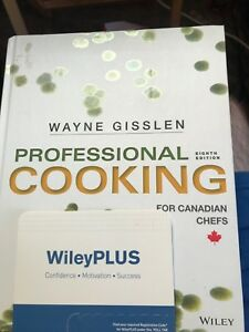 Professional cooking for Canadian Chefs 8thed book