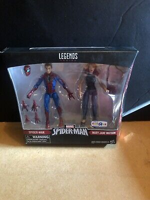 Marvel Legends Mary Jane and Spiderman Two Pack Sealed Tru Venom Carnage