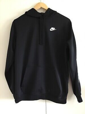 "Nike Hoodie Black Size Medium Used Great Condition P2P 21"" Neck To Bottom 27"""