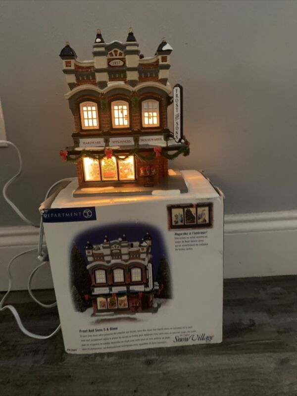 Department 56 Snow Village Frost And Son 5 And dime  #56-55047