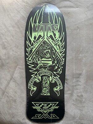 Santa Cruz Natas Kaupas SMA Panther 3 Glow Old School Reissue Skateboard Deck