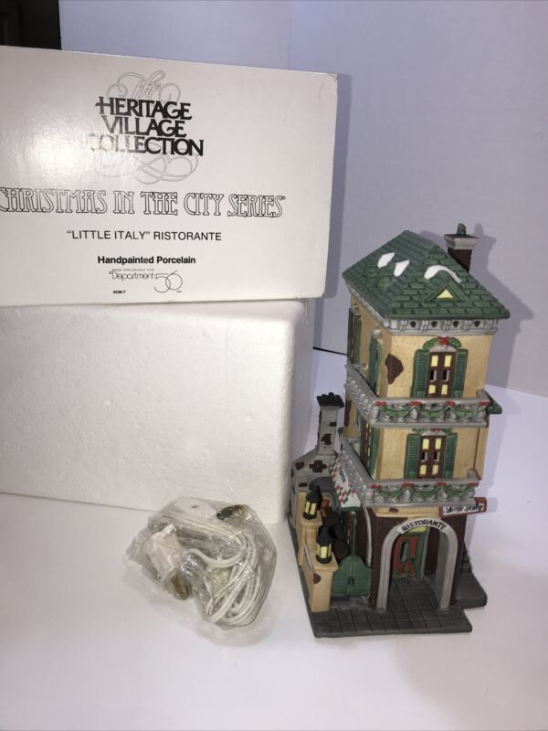 Dept 56 Heritage Village Christmas in the City 5538-7 a Little Italy Restorante