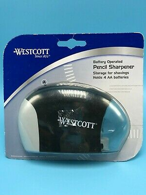 Westcott Battery Pencil Sharpener Item14856 New