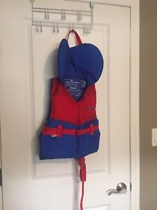 Youth Life Jacket Red & Blue