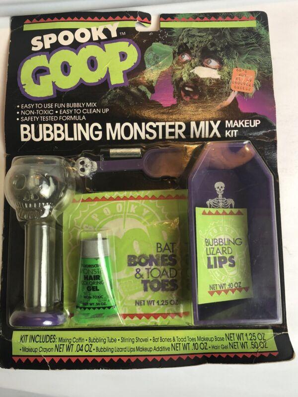 Vintage Halloween SPOOKY GOOP Bubbling Monster Mix Makeup Kit Spearhead 1988