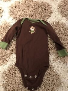 3 month monkey onesie