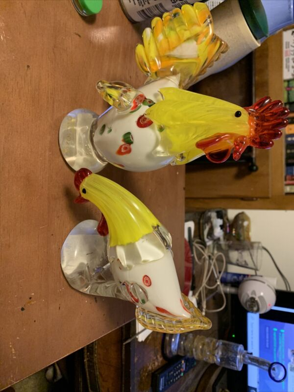 Lenox Morning Mingle Set Of Two Rooster And Hen Beautiful Design