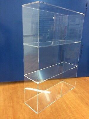 Displays2buy Acrylic Countertop 14 X 4 14 X 19h Display Showcase Box Cabinet