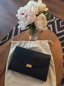 Mansur Gavriel folder bag - navy