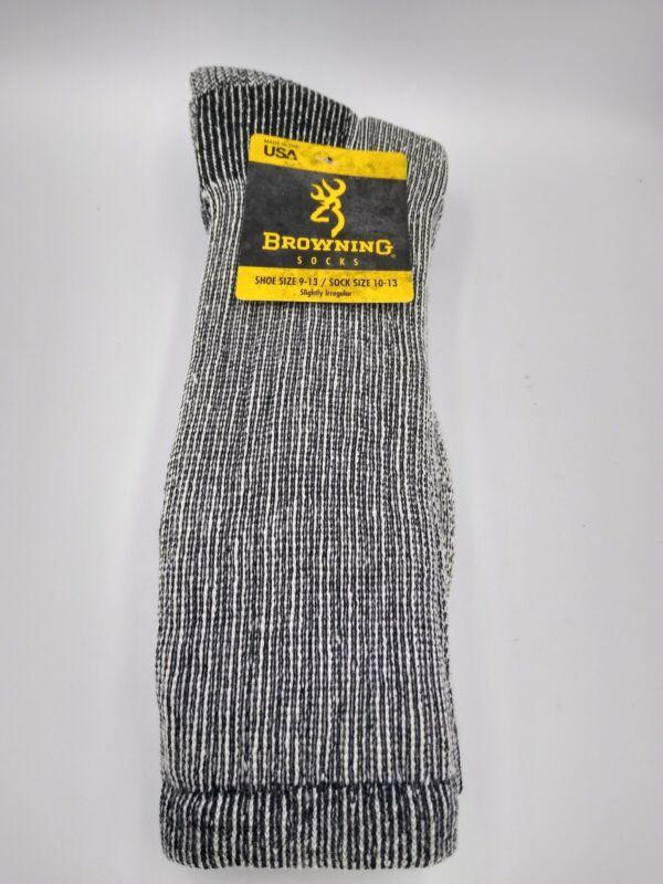 Browning Mens Wool Socks- Irregular