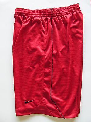 Nike Mens Dark Red Satin Finish Basketball Shorts Large   AC8