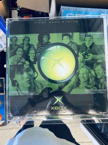 Original xbox console 2001 Brand new Sealed Acrylic Case!