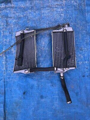 2003 03 Honda Cr125 Cr125r Cr 125 Radiators Set Left Right Cooling System