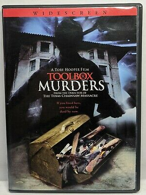 Toolbox Murders (DVD, 2005) 1977 Widescreen Tobe Hooper