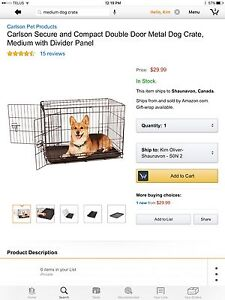 Looking for a dog crate
