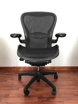 Herman Miller Aeron Office Chair - Graphite Size C Large