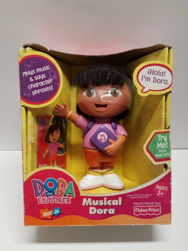 "Vintage 2001 DORA The Explorer 5"" MUSICAL Dora FISHER PRICE"