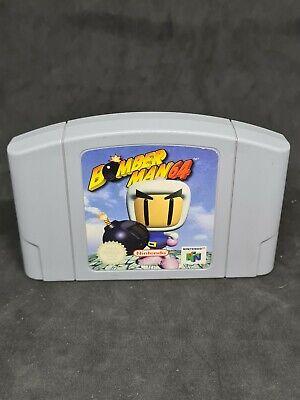 Nintendo 64 Bomberman 64 N64 PAL only Cartridge VGC
