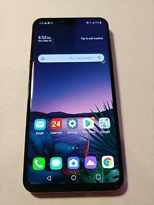 LG G8 ThinQ - 128GB - Black AT&T (GSM Unlocked) ANDROID 10
