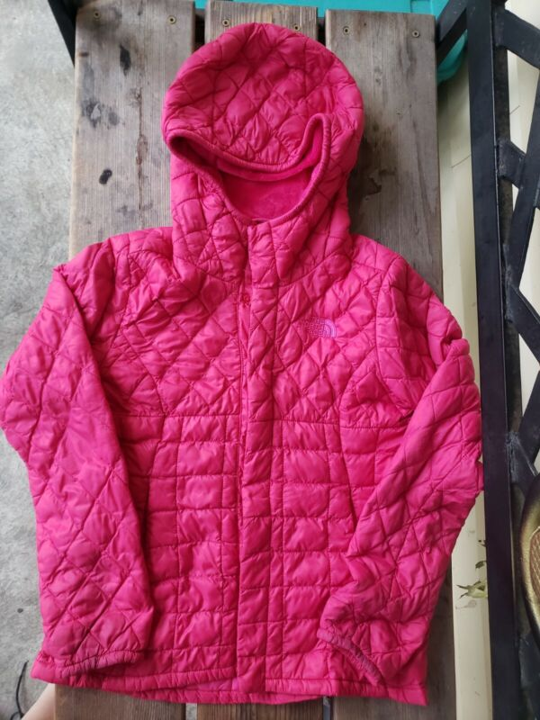 PATAGONIA PRIMALOFT thermoball girls SZ S (7-8Y) PINK lightweight quilted jacket