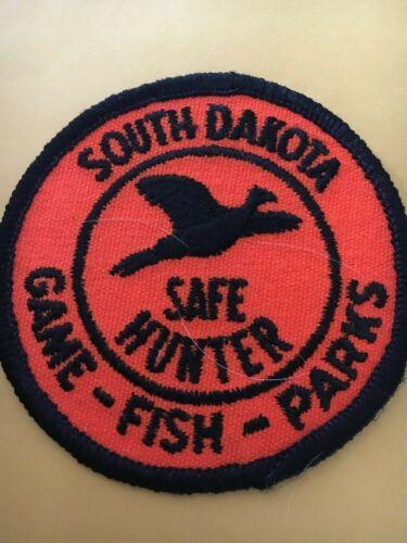 Vintage South Dakota Game Fish Parks Safe Hunter Patch