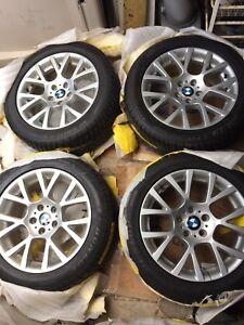 """BMW MAGS ORIGINAL 18"""" - DUNLOP WINTER RUNFLAT"""