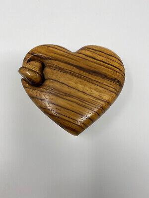 RICHARD ROTHBARD Heart Shaped Trinket/PUZZLE BOX Heart Shaped Puzzle