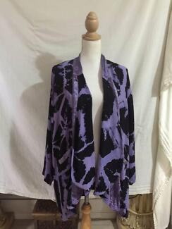 Tienda Ho Gypsy Boho Purple Jacket Freesize VGC