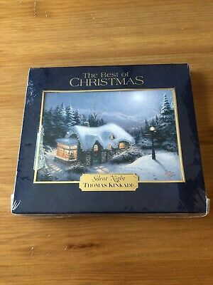Best of Christmas 16 SONGS Orchestra MUSIC CDs THOMAS KINKADE Brand new sealed