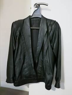 Leather jacket - as new condition