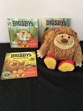 BIGSBY INTERACTIVE STORY BOOKS AND SOFT TOY AS NEW. Warnbro Rockingham Area Preview