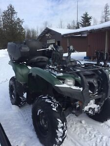 Low KM 2012 Yamaha Grizzly 700 EPS