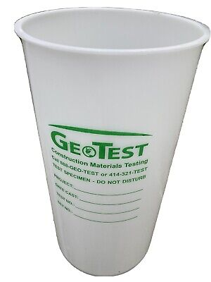 Concret Testing Cylinders 6 X 12 Box Of 20