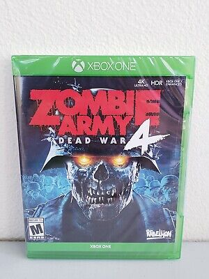 Zombie Army 4: Dead War (Microsoft Xbox One, 2019) Brand New Sealed Free S&H