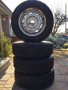 WINTER TIRES AND RIMS SET  175/70R13