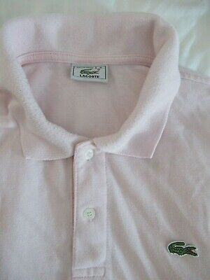 Lacoste Men's Polo Size 8 US 2XL SS Knit 100% Cotton Made in France