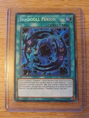 Yugioh Shaddoll Fusion SHVA-EN057 Secret Rare 1st Edition NM 3 AVAILABLE