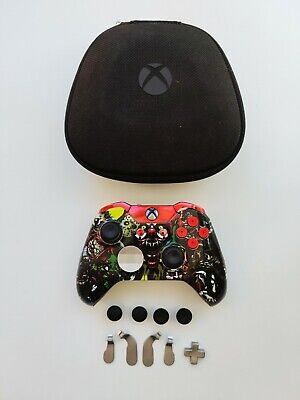 Xbox One Elite Controller Microsoft Horror Custom Edition Red Excellent Con