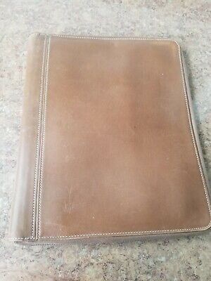 Coach Leather Portfolio